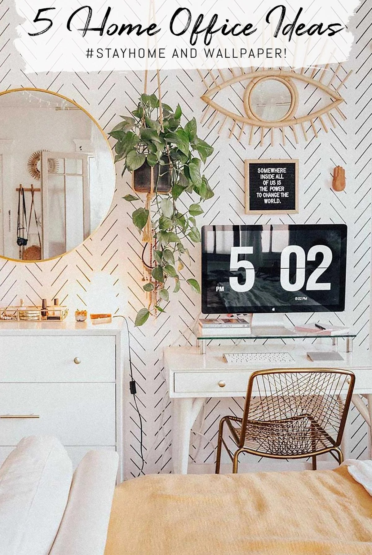 5 Beautiful Home Office Ideas Tips On How To Decorate Your Perfect H Livettes