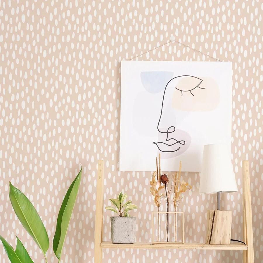 Trendy Spotty Print Wallpaper Livettes