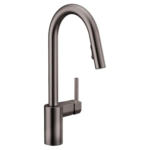 moen 7565 align chrome one handle pulldown kitchen faucet