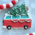 Vw Bus With Tree Cookie Cutter Kaleidacuts