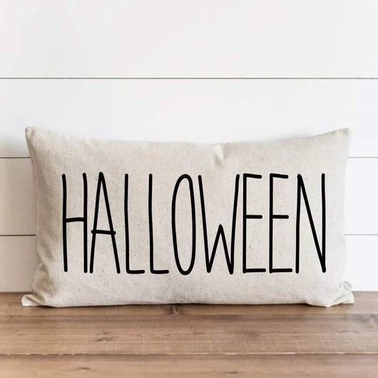 halloween 16 x 26 pillow cover