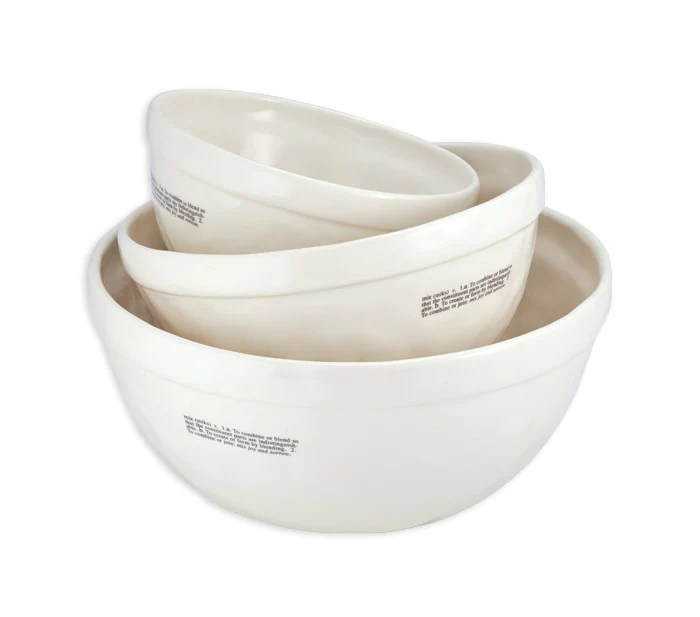 Rae Dunn Mixing Bowls Set Of 3 Modern Rustic Home