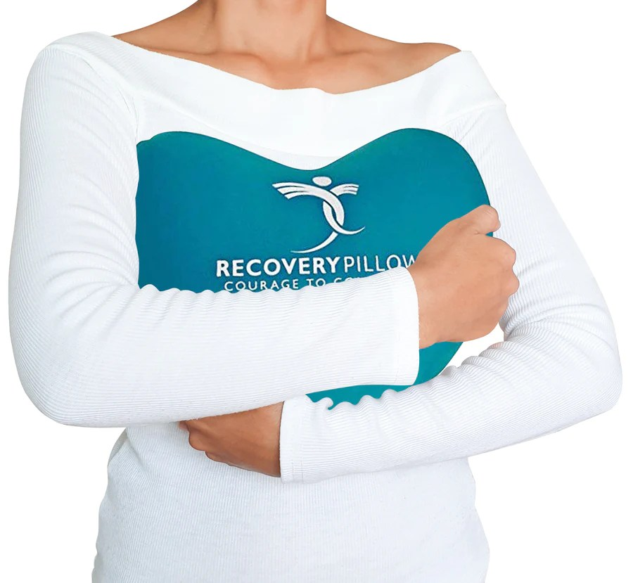 surgery recovery pillow provides comfort post surgical relief