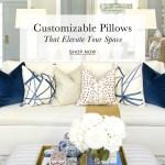 Arianna Belle Designer Pillows Luxury Decorative Throw Pillow Covers