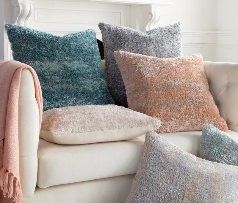 flokati fkt 007 21 x 21 pillow cover extraordinary surfaces design studio s
