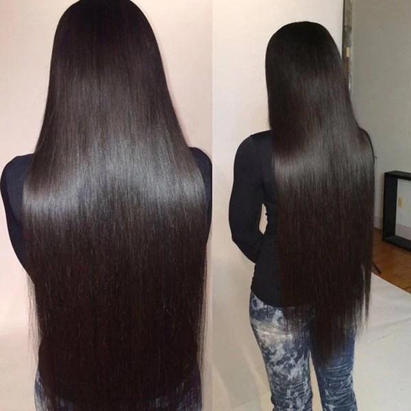 Luxury 10A Brazilian Straight Hair 4 Bundles Dansin Hair