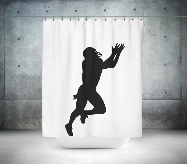 artistic superman shower curtain