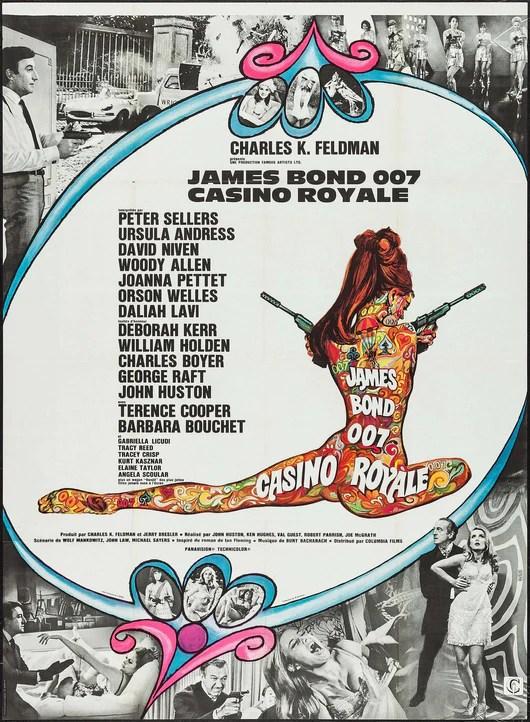 casino royale 1967 original movie poster