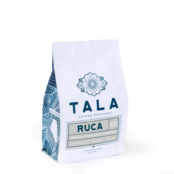 Ruca House Blend Tala Coffee Roasters 12oz. bag