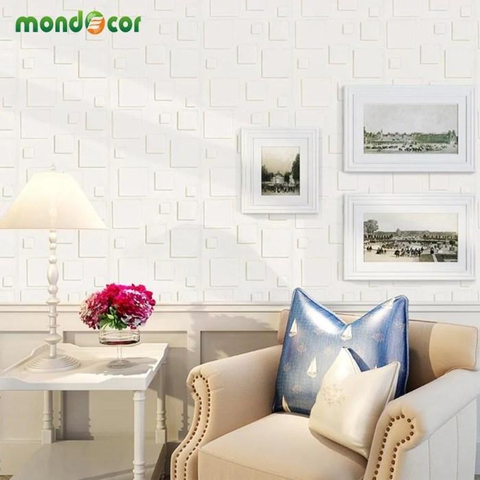 DIY Self Adhesive 3D Wall Panels Bedroom Home Decor Foam Brick Room ...