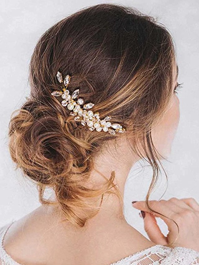 unicra bride wedding hair combs bridal headpieces hair pieces wedding hair accessories for women