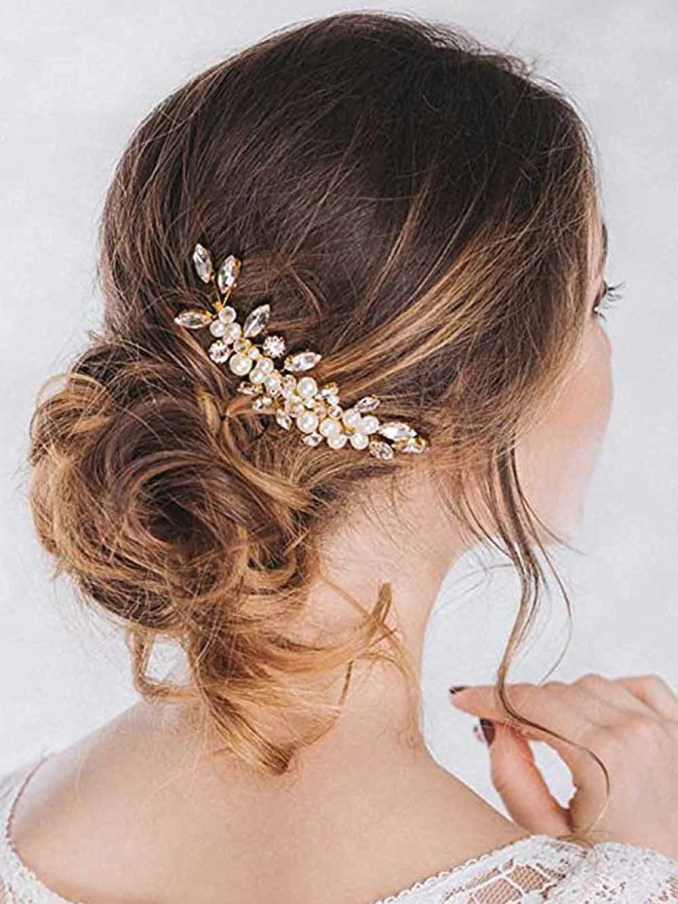 unicra bride wedding hair combs bridal headpieces hair pieces wedding hair  accessories for women