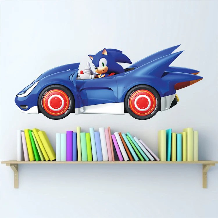Boys Room Wall Decal Video Game Race Car Wall Decor Removable Kids Roo American Wall Designs
