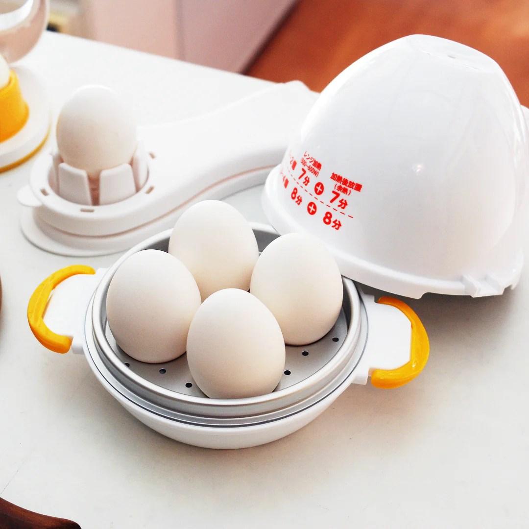akebono microwave egg boiler 4 eggs