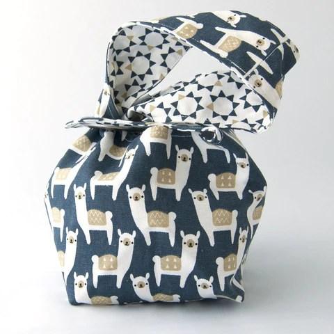 Binkwaffle Alpacas Dumpling Bag