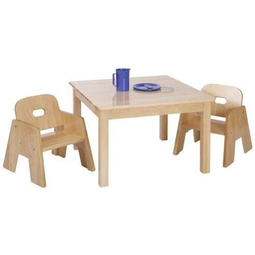 Solid Maple Toddler Table And Chair Set Canada Louisekool