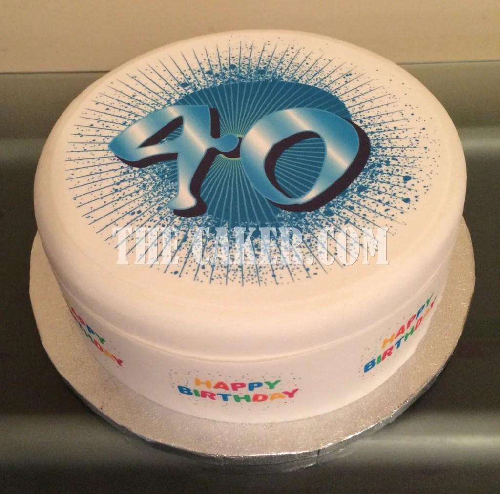 40 Birthday Cake For Men Guys Collection D Viking Fashion
