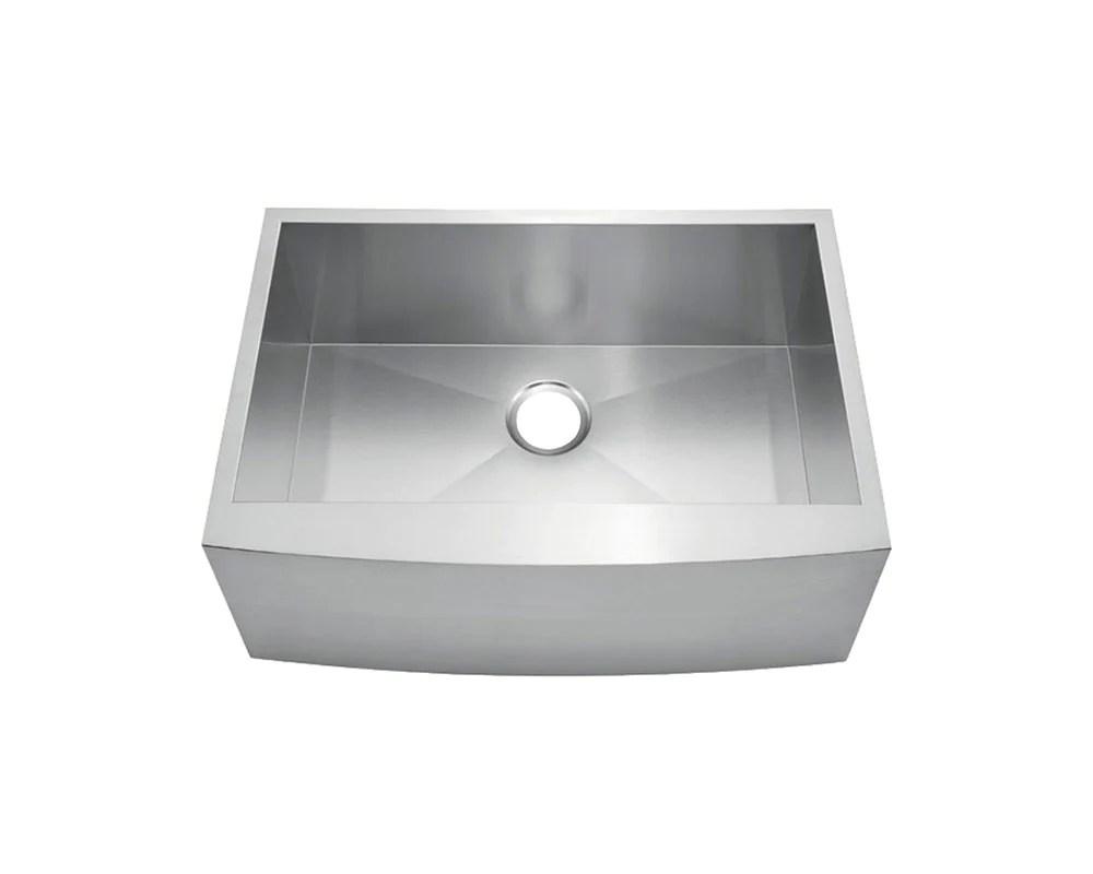 fabricated apron farm sink 24 x 20 ksf242010s