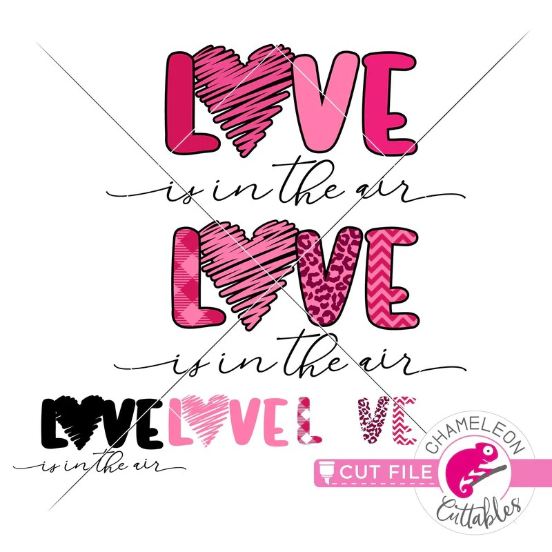 Download Love is in the air with Pattern Valentine's day svg png ...