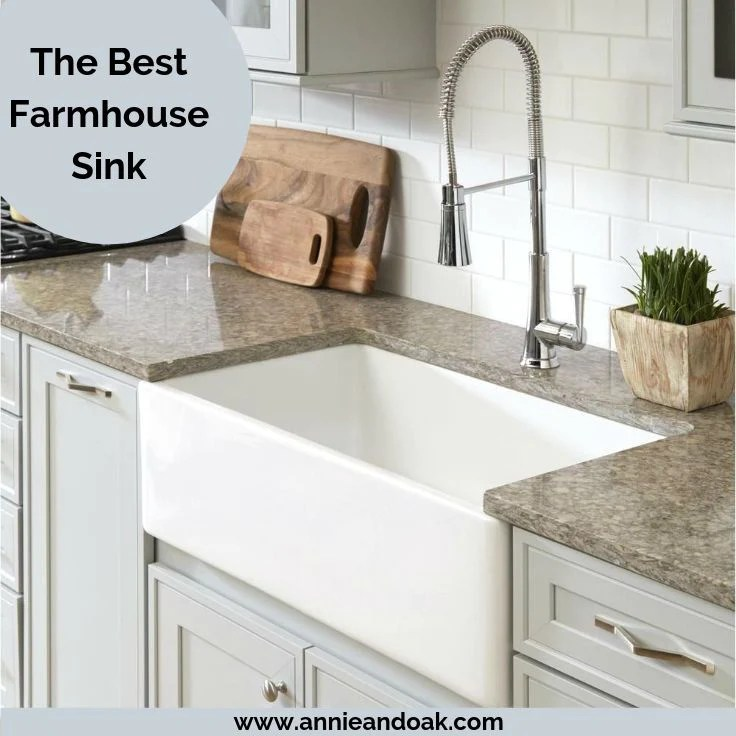 best farmhouse sink 1 pick material