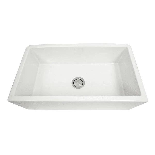 nantucket harwich 33 fireclay farmhouse sink reversible italian white