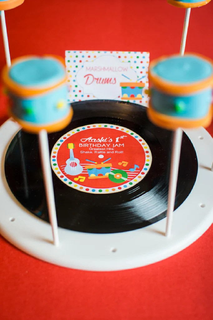 Music Birthday Jam Party Printables Supplies