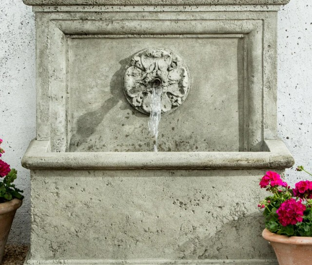 St Aubin Outdoor Water Fountain Soothing Walls