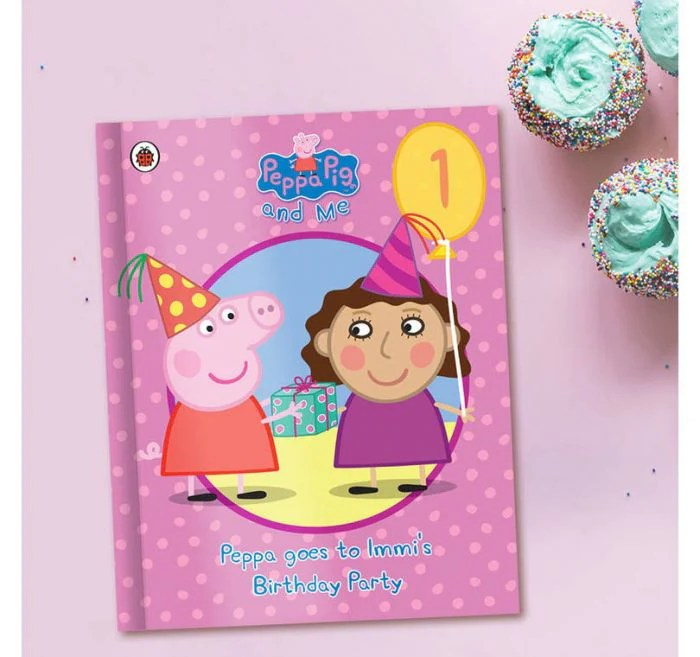 Peppa Pig Personalised Birthday Book Www Justathought Ie