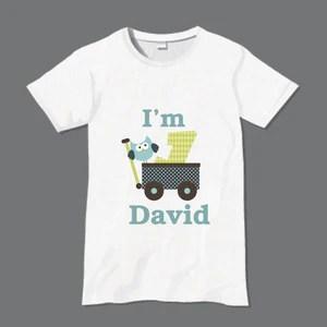 Personalised Birthday Tshirt Www Justathought Ie
