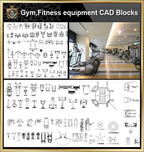 ★【All Gym,Fitness equipment CAD Blocks Bundle-Stadium,Gymnasium, playground, sports hall】@Gem CAD Blocks,Autocad Blocks,Drawings,CAD Details