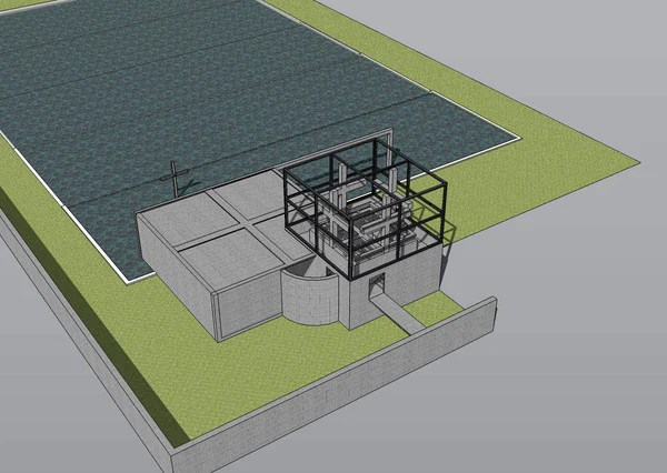 Sketchup 3D Architecture Models Chapel On The Water