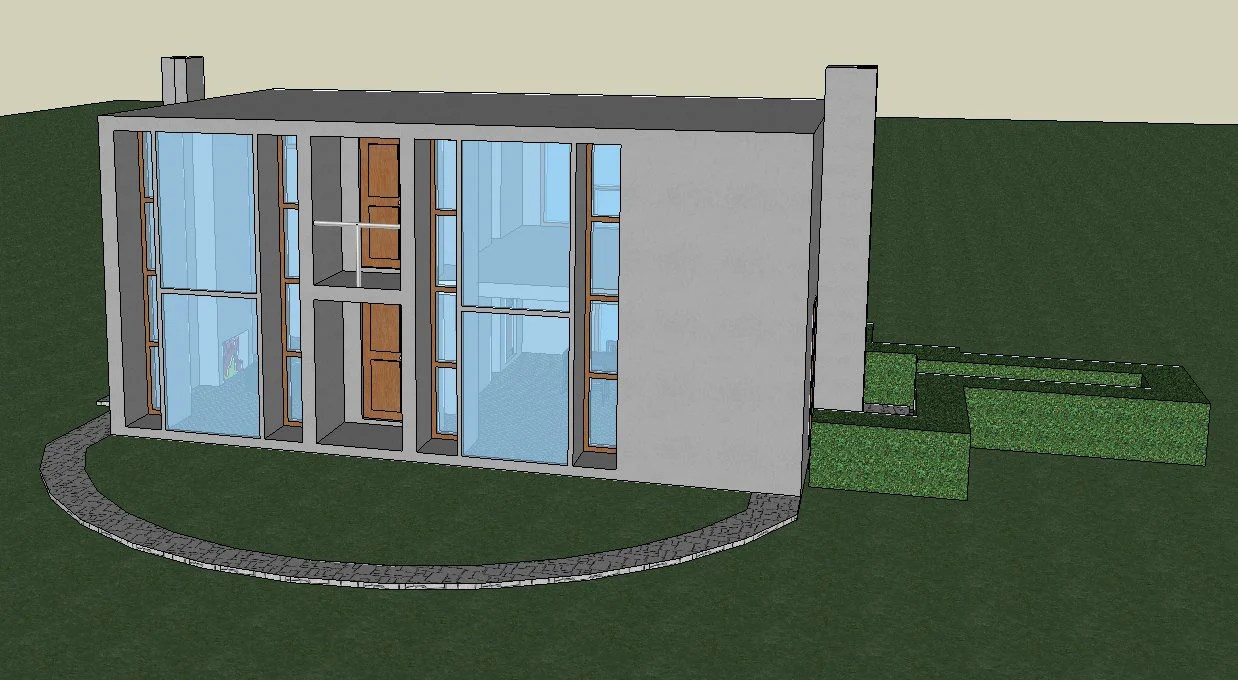 Download 7 Projects of Louis Kahn Architecture Sketchup 3D Models ...