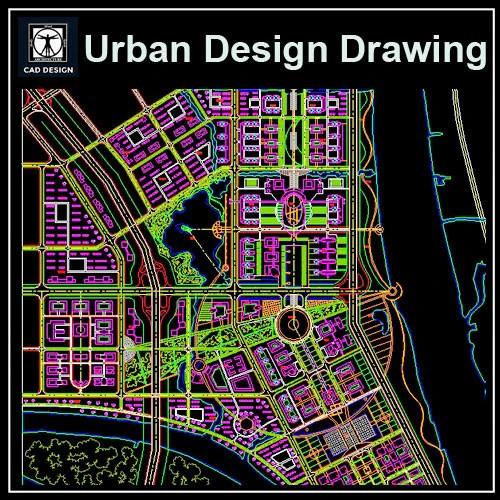 Urban City Design 2 CAD Design Free CAD Blocks