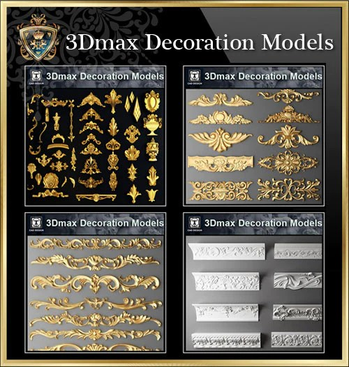 【All 3D Max Decoration Models Bundle】(Best Recommanded!!)
