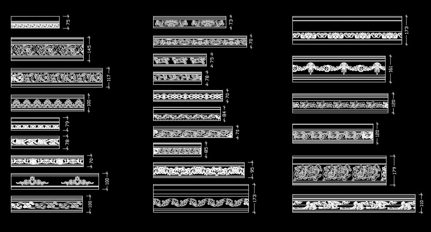 Over 1200+ Decorative Elements,Skirting Board,Corner Post,Neoclassicism Decor,Baroque,Rococo,Door Trim
