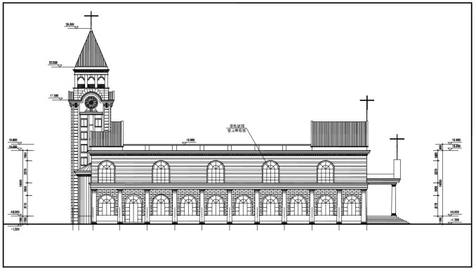 Church  Design CAD Drawings