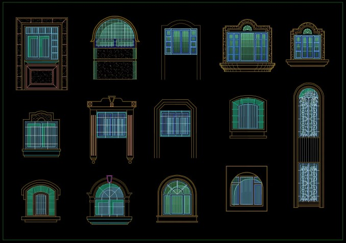 225 Types of Door & Window Design(Best Recommanded!!)