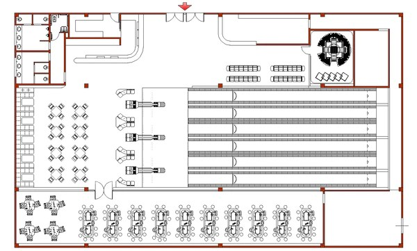 Bowling Field Plans CAD Design Free CAD Blocks
