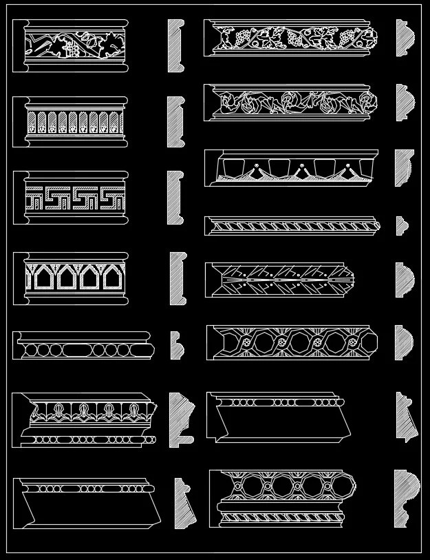 Over 1200+ Crown molding,Chair-rail,Door Trim,Skirting Board,Corner Post,Plain Molding
