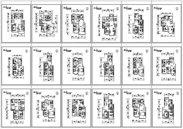 85 Residential Layout Plans (Best Recommanded!!)