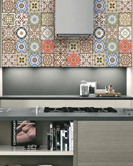backsplash tile stickers tile idea 24 tile stickers style stickers mixed for walls kitchen stickers decals bathroom tile stair decals sb13