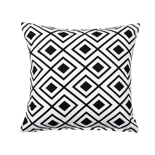 lotzi black white throw pillow cover