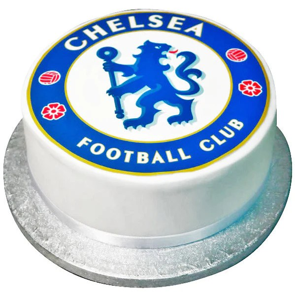 Chelsea Fc Cake Free Next Day Delivery New Cakes