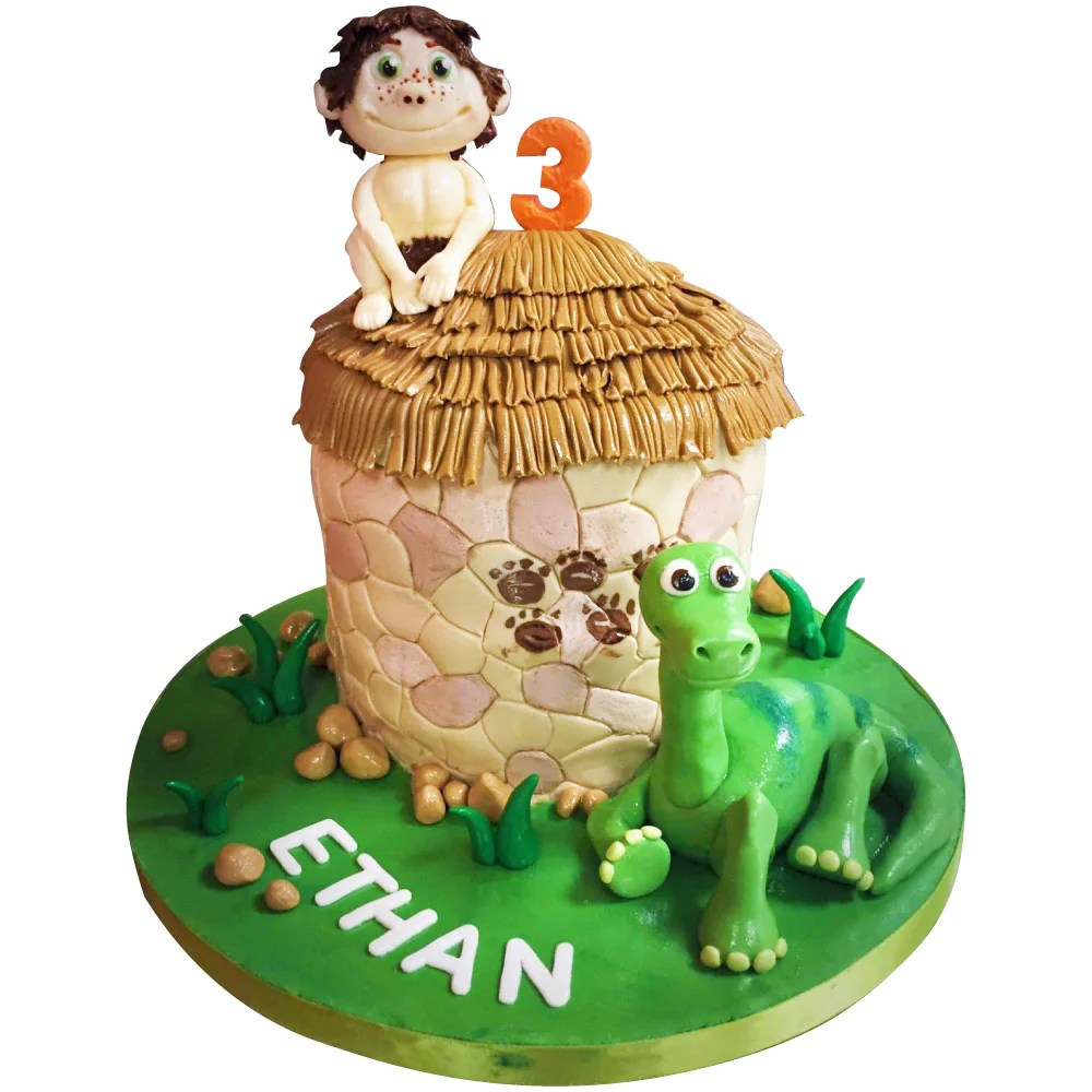 The Good Dinosaur Cake Buy Online Free Next Day Delivery New Cakes