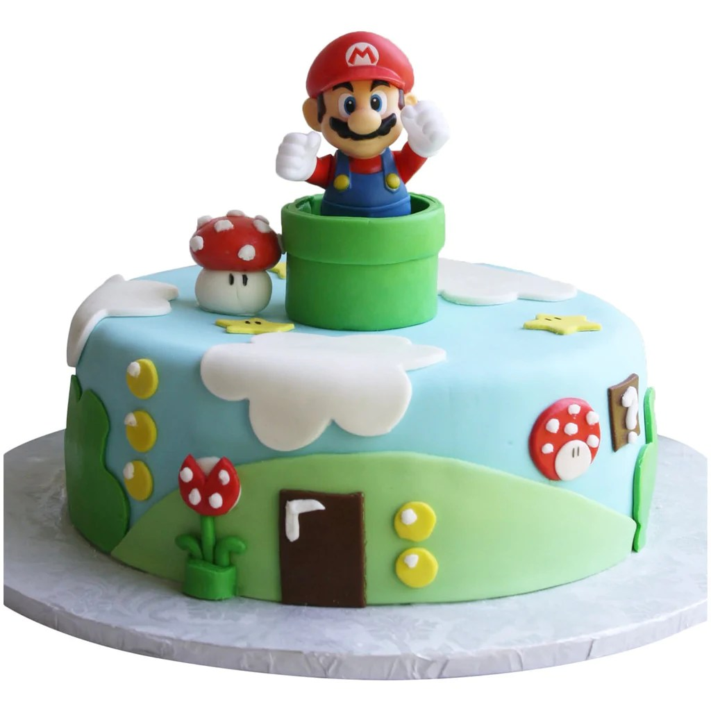 Super Mario Cake 8995 Buy Online Free UK Delivery