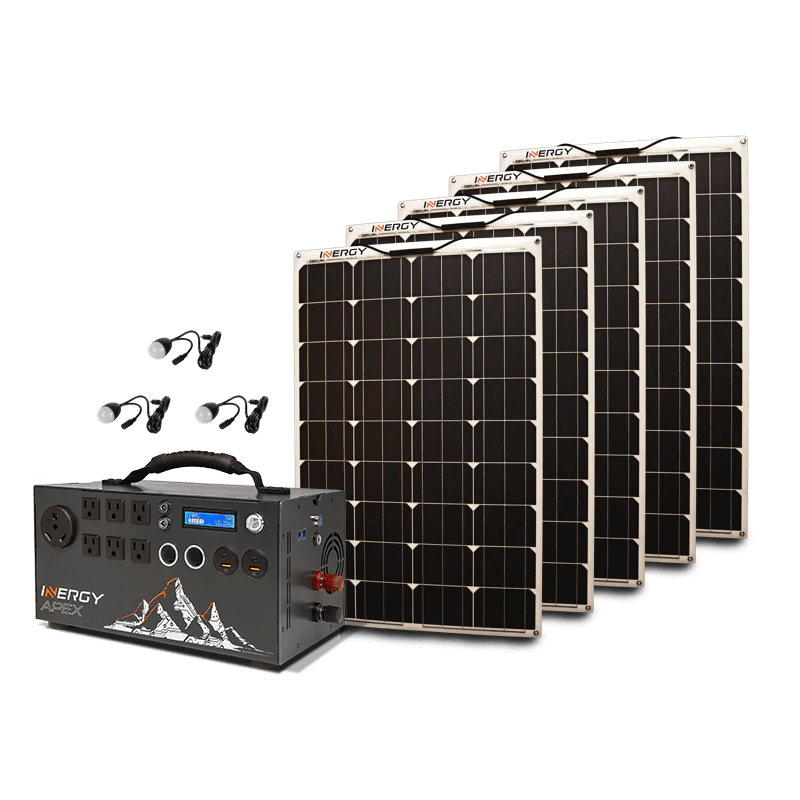 Kodiak Solar Wall Light