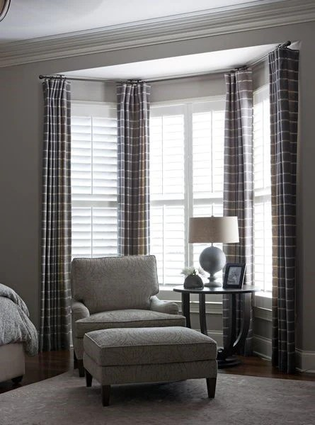 curtains for corner windows what