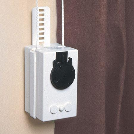 add a motor motor for curtain rod with remote