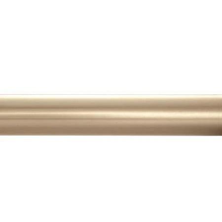 kirsch designer metals 1 3 8 inch diameter telescoping curtain rod set smooth 120 180 inches