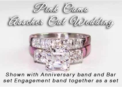 Camo Anniversary Ring